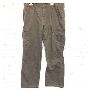 Wrangler Gray Cargo Pants